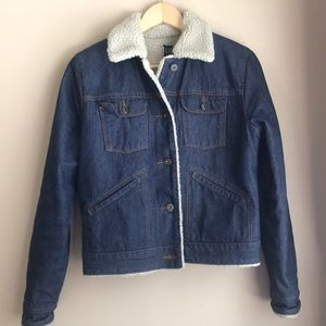 Gap jean Sherpa jacket